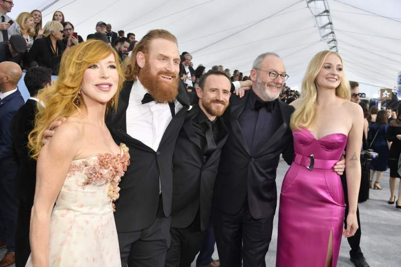 game-thrones-cast-at-sag-awards-2020